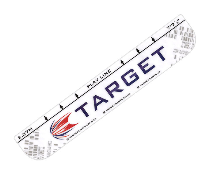 DARTS THROW LINE【TARGET】White
