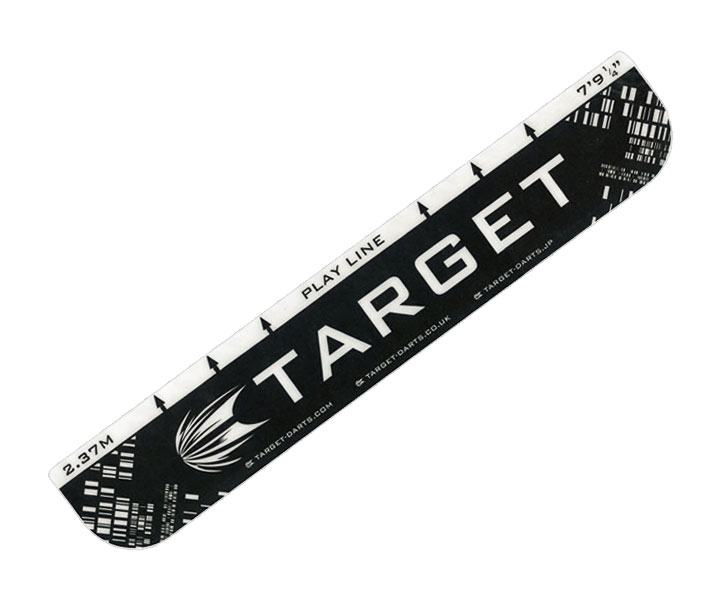 DARTS THROW LINE【TARGET】Black