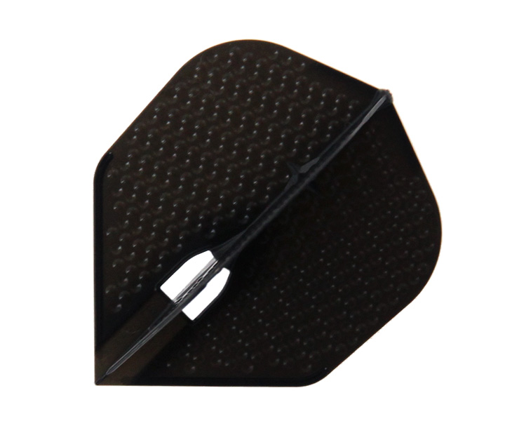 DARTS FLIGHT【 L-Flight 】PRO Dimple Shape Black
