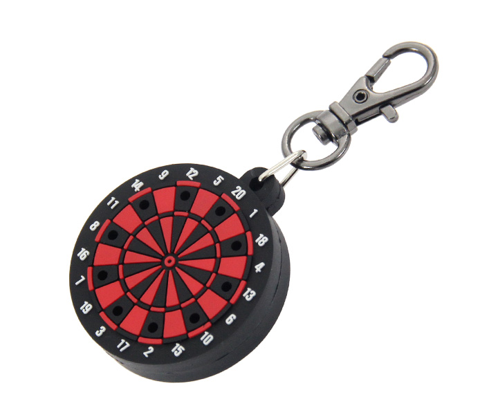 DARTS ACCESSORIES【TRiNiDAD】DartsBoard Style Tip Holder Red