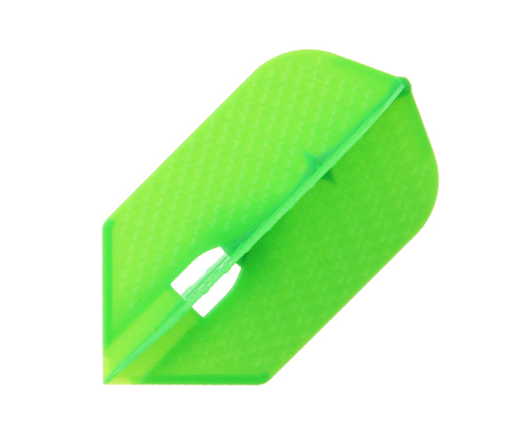 DARTS FLIGHT【 L-Flight 】PRO Dimple Slim LimeGreen