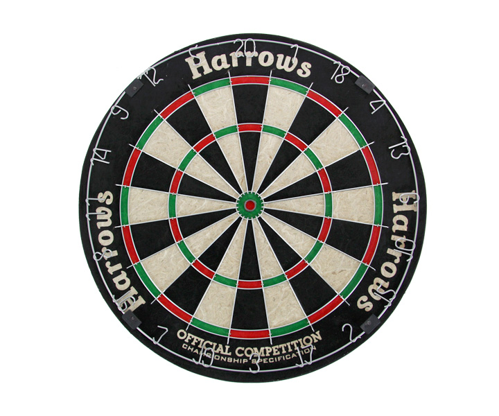 DARTS BOARD【Harrows】HARD OFFICIAL COMPETITION (寄送僅限台灣地區;無法超商取付)