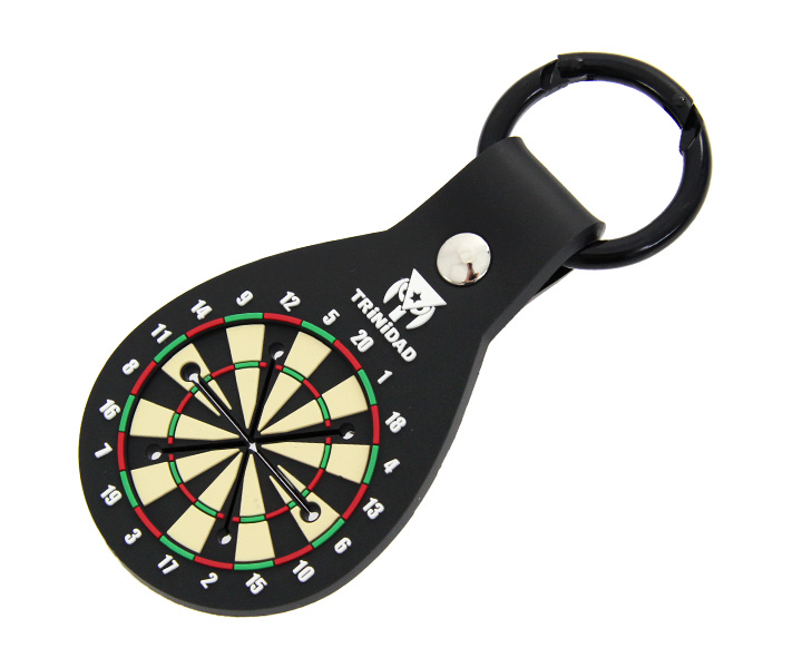 DARTS ACCESSORIES【TRiNiDAD】DartsBoard Style Towel Holder Black x Green