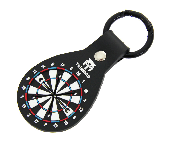 DARTS ACCESSORIES【TRiNiDAD】DartsBoard Style Towel Holder Black x Blue
