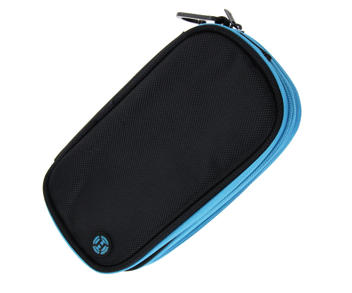 DARTS CASE【Harrows】Z800 Wallet Black/Aqua
