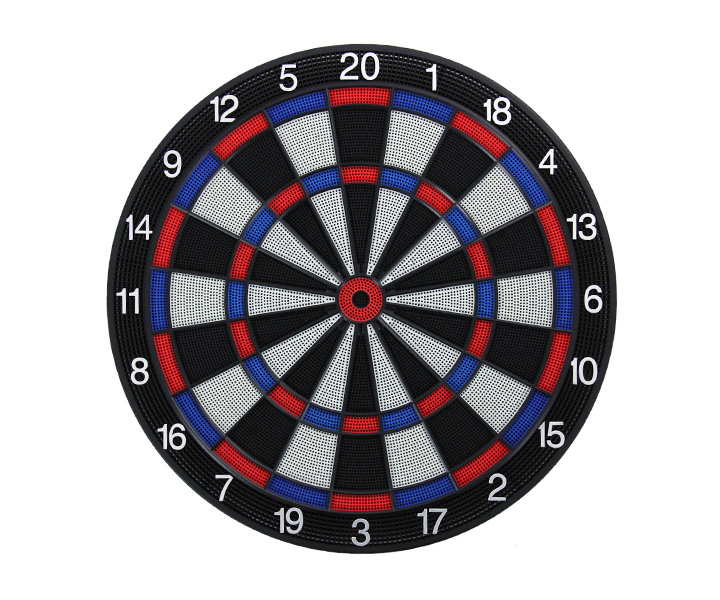 DARTS BOARD【D.Craft】Professional Board SATURN Blue/Red (寄送僅限台灣地區;無法超商取付)
