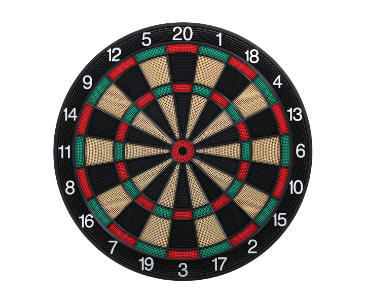 DARTS BOARD【D.Craft】Professional Board SATURN Green/Red (寄送僅限台灣地區;無法超商取付)