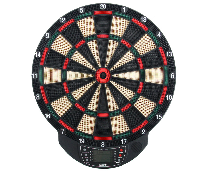 DARTS BOARD【D.Craft】Electric Board 501 Green/Red (寄送僅限台灣地區;無法超商取付)