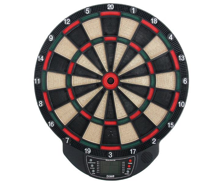 DARTS BOARD【D.Craft】Electric Board 501 Green/Red (寄送僅限台灣地區;無法超商取付)