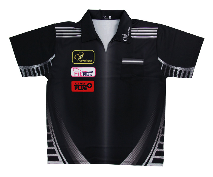 DARTS APPAREL【 COSMO DARTS 】Replica Shirt CODE METAL