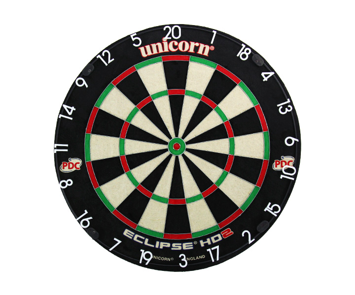 DARTS BOARD【unicorn】ECLIPSE HD2 79448