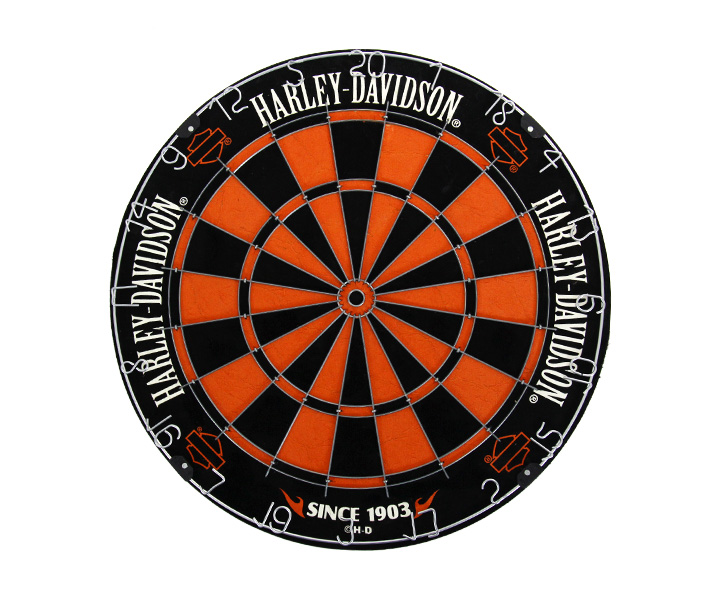 DARTS BOARD【HARLEY-DAVIDSON】Traditional Dartboard(寄送僅限台灣地區;無法超商取付)