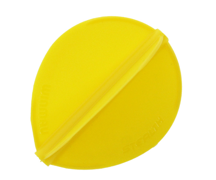 DARTS FLIGHT【 Winmau 】STEALTH Teardrop Yellow