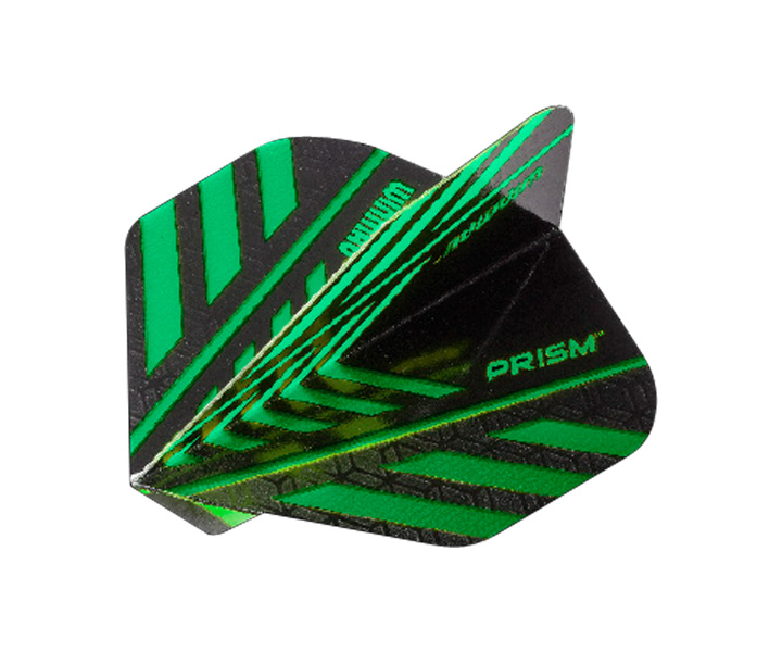 DARTS FLIGHT【 winmau 】Prism Flights Green