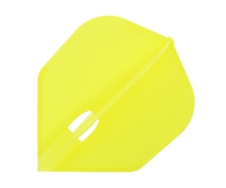 DARTS FLIGHT【L-Flight】PRO Shape Yellow