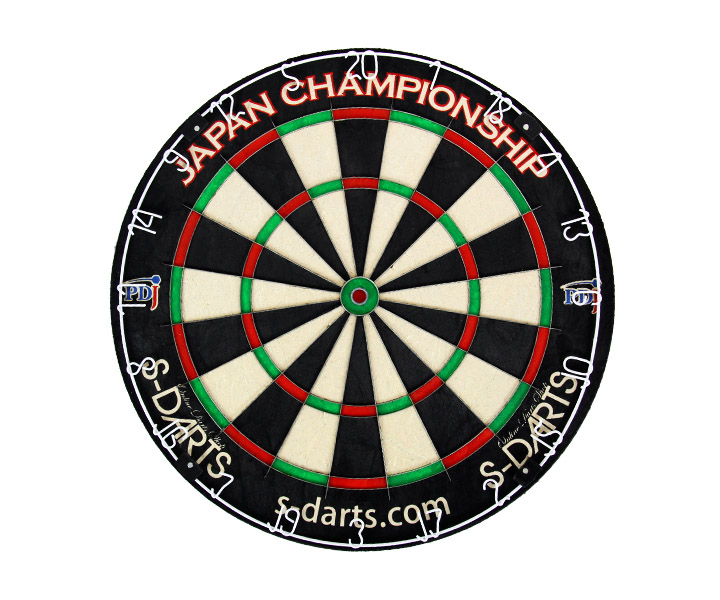 DARTS BOARD【PDJ x S-DARTS】PDJ OFFICIAL HARD BOARD 2017