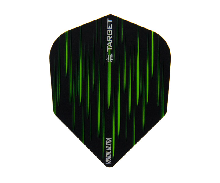 DARTS FLIGHT【 TARGET 】VISION ULTRA SHAPE SPECTRUM Green 332170