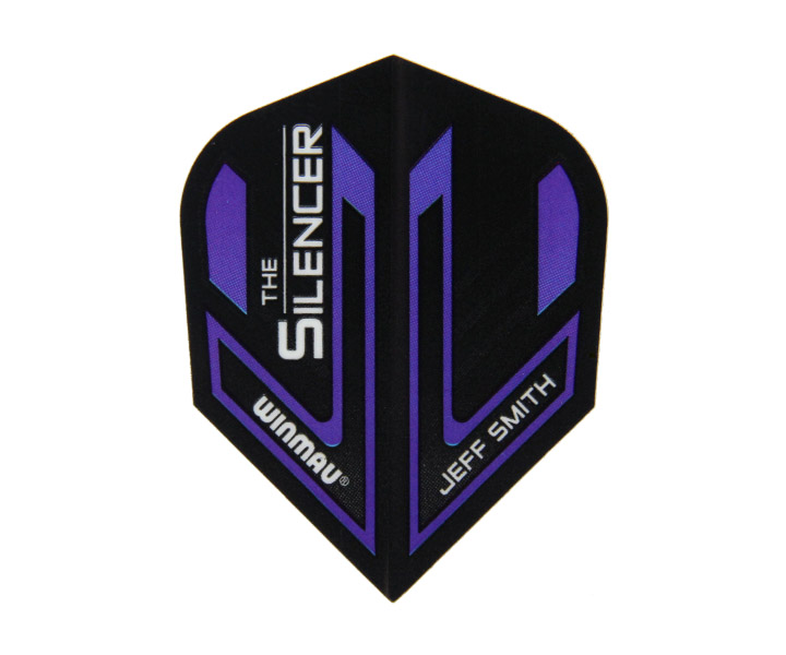 DARTS FLIGHT【 winmau 】Mega Standard Flights THE SILENCER JeffSmith Model