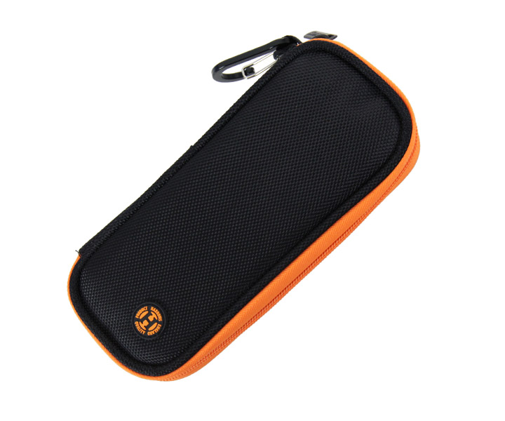 DARTS CASE【Harrows】Z200 Wallet Black/Orange