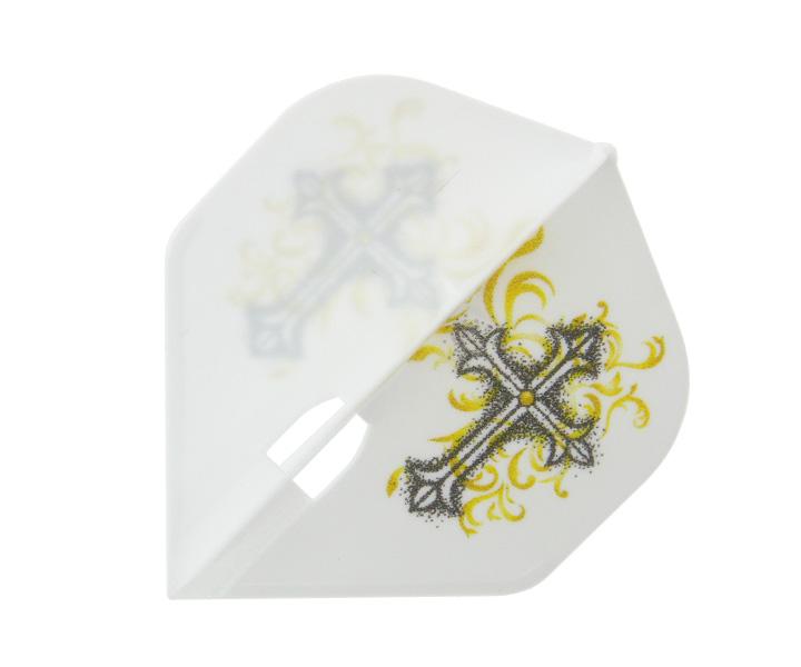 DARTS FLIGHT【L-Flight】PRO Hoshino ver.5 星野光正Model Standard White
