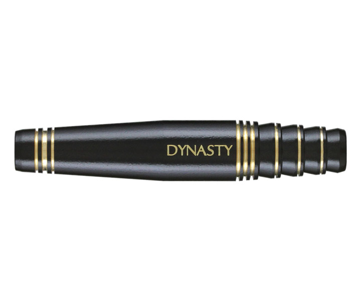 DARTS BARREL【DYNASTY】BRASS DARTS SET NINE Black