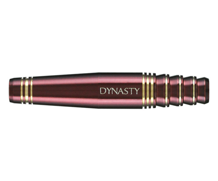 DARTS BARREL【DYNASTY】BRASS DARTS SET NINE WineRed