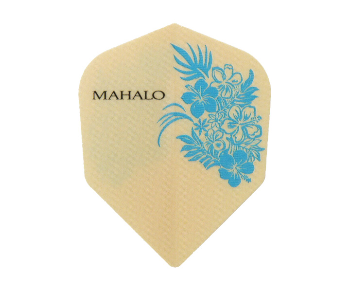 DARTS FLIGHT【 S4 】Mahalo Blue