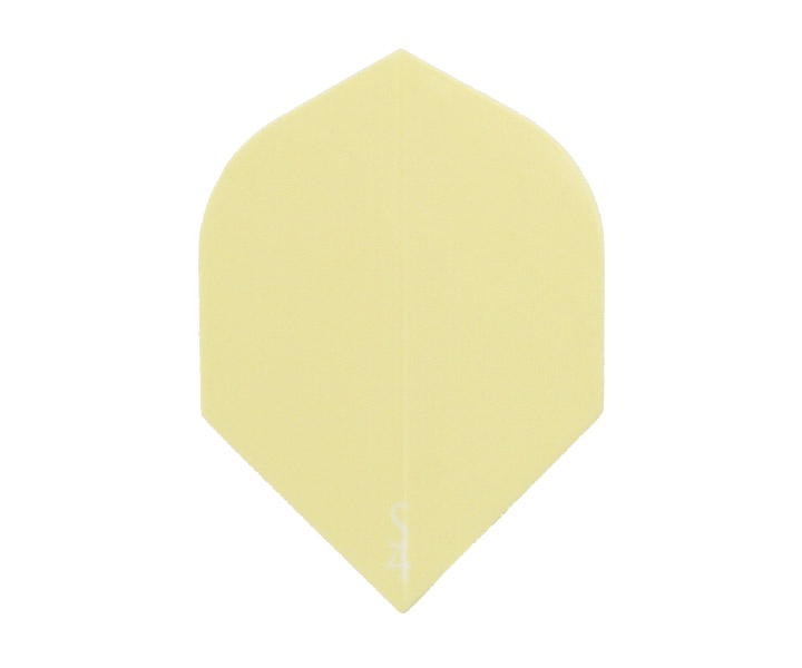 DARTS FLIGHT【 S4 】S Line Rocket CreamYellow