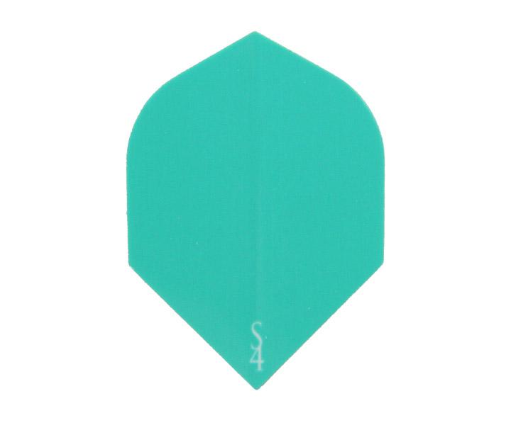DARTS FLIGHT【 S4 】S Line Rocket EmeraldGreen