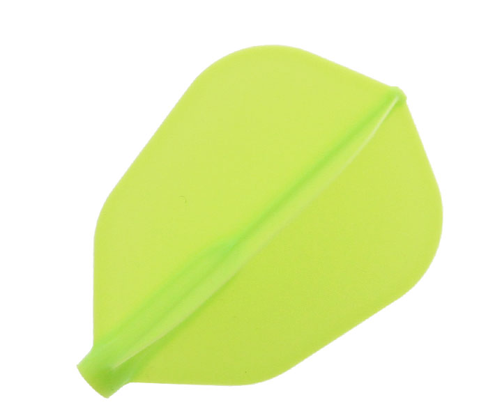 DARTS FLIGHT【 Fit Flight AIR 】SuperShape 3pcs LightGreen