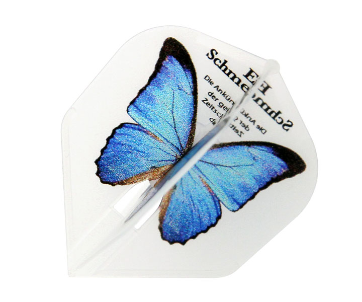 DARTS FLIGHT【 Flight-L x D.craft 】Papillon Blue