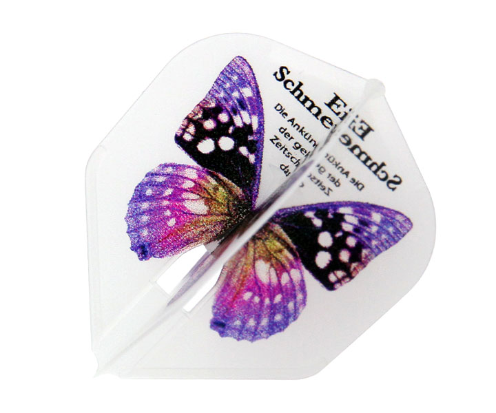 DARTS FLIGHT【 L-Flight x D.craft 】PRO Papillon Purple