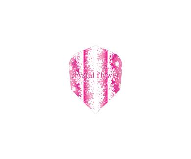 DARTS FLIGHT 【 PRO 】Crystal Flower Shape