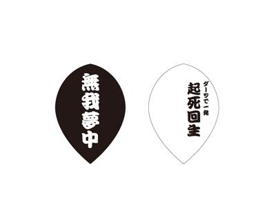 DARTS FLIGHT【 PRO 】 無我夢中 Teardrop