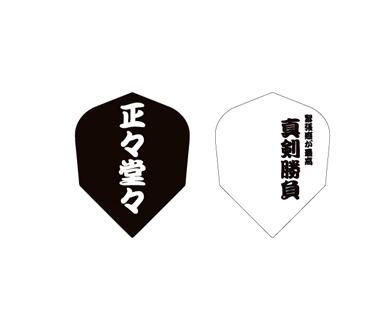 DARTS FLIGHT【 PRO 】 正正堂堂 Shape