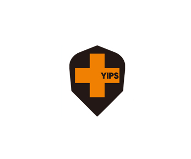 DARTS FLIGHT【 PRO 】YIPS Shape ClearOrange
