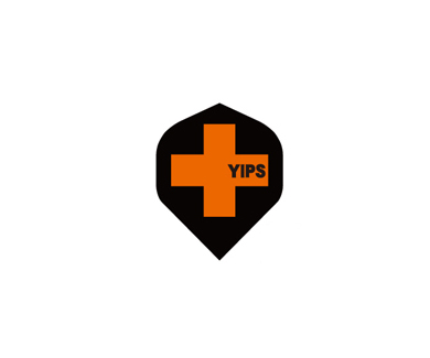 DARTS FLIGHT【 PRO 】YIPS Standard ClearOrange