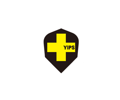 DARTS FLIGHT【 PRO 】YIPS Shape ClearYellow