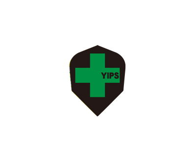 DARTS FLIGHT【 PRO 】YIPS Shape ClearGreen