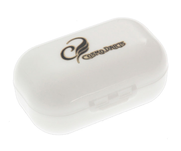 FLIGHT CASE【COSMODARTS】SHELL Large LOGO White