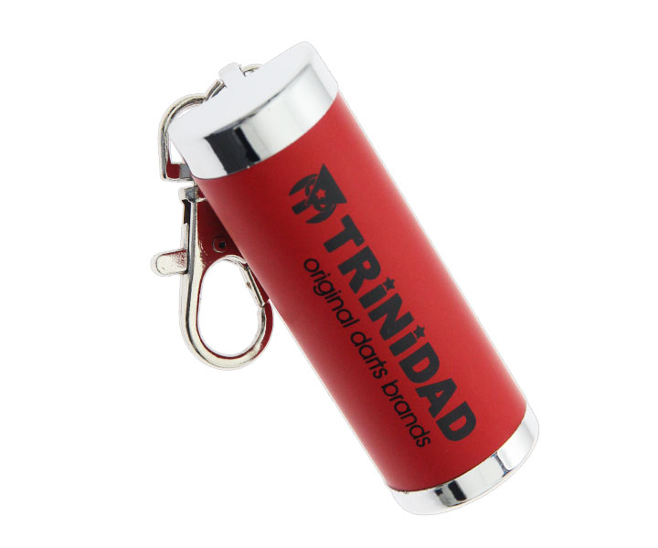 TIP CASE【TRiNiDAD】Aluminum Tip Case Red
