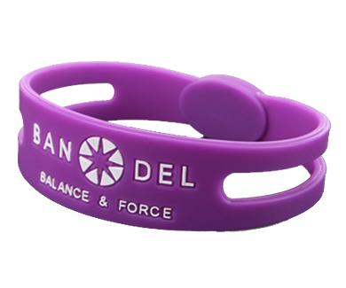 SPORTS ACCESSORY【BANDEL】Bracelet Purple L