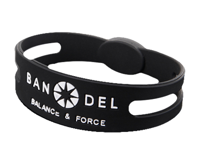 SPORTS ACCESSORY【 BANDEL 】Bracelet Black LL