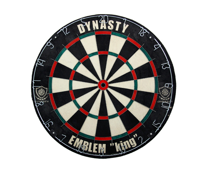 DARTS BOARD【DYNASTY】EMBLEM KING Type-N Natural (寄送僅限台灣地區;無法超商取付)
