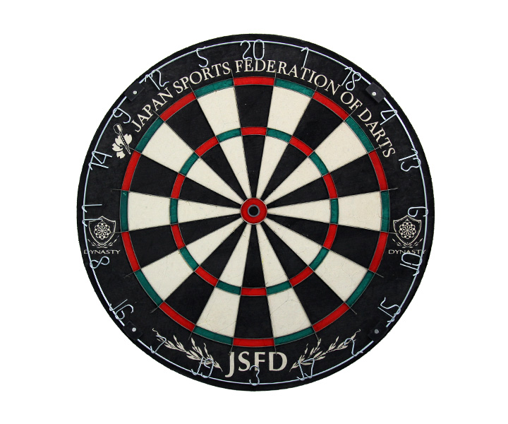 DARTS BOARD【DYNASTY】EMBLEM King Type-N JSFD Official Natural (寄送僅限台灣地區;無法超商取付)