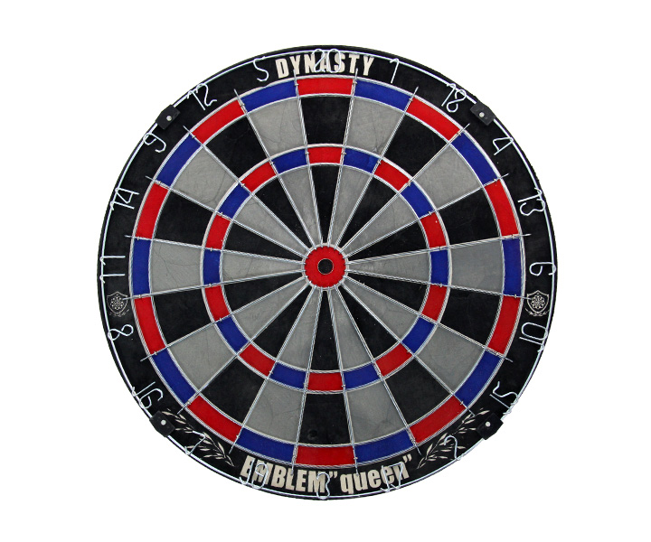 DARTS BOARD【DYNASTY】EMBLEM Queen Type-S Gray (寄送僅限台灣地區;無法超商取付)