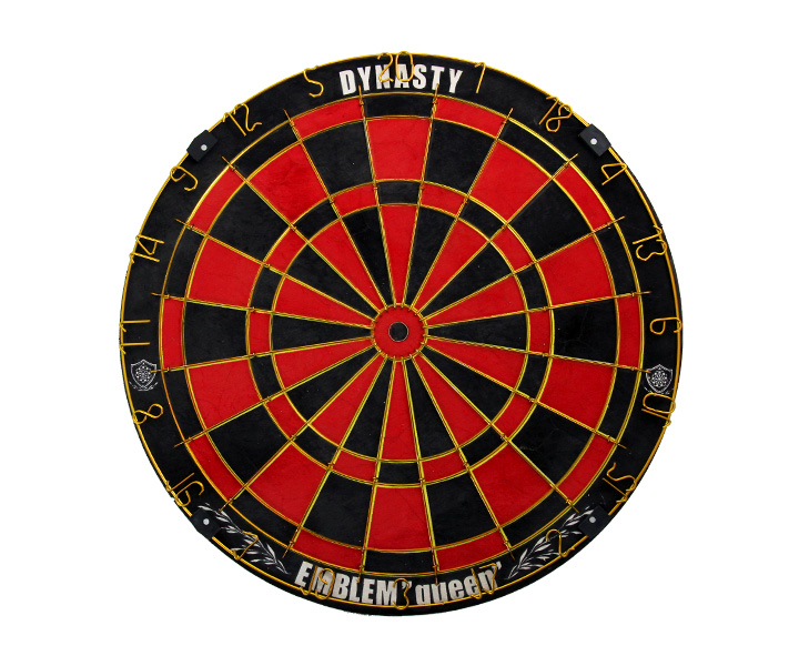 DARTS BOARD【DYNASTY】EMBLEM Queen Type-B Red