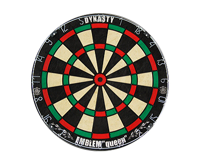 DARTS BOARD【DYNASTY】EMBLEM Queen Type-K