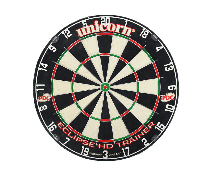 DARTS BOARD【unicorn】ECLIPSE HD Trainer 79438