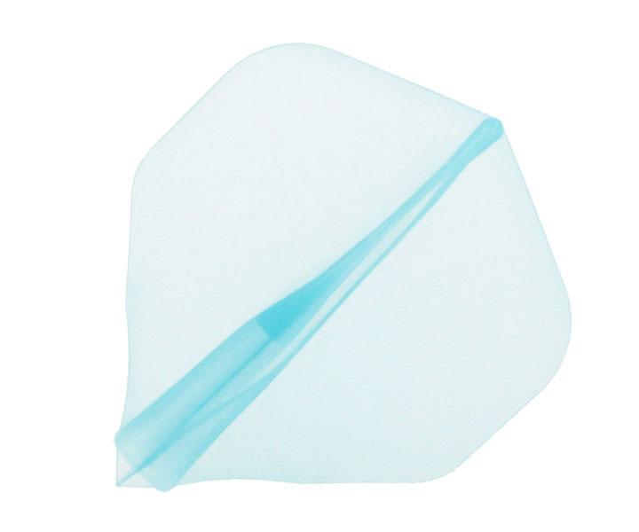 DARTS FLIGHT【 JOKER DRIVER 】零-ZERO- Practice Standard ClearBlue